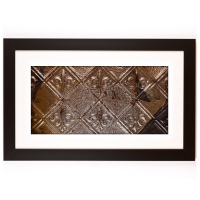 1 Panel X-Large Rectangle with Classic Black Frame