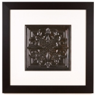 1 Panel Large Square with Classic Black Frame