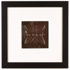 1 Panel Medium Square with Classic Black Frame